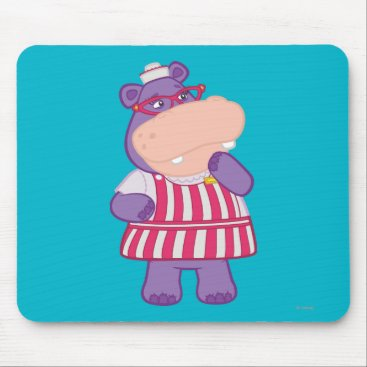Hallie the Happy Hippo Mouse Pad