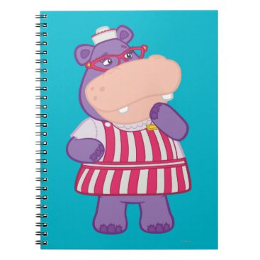 Hallie the Happy Hippo Notebook