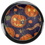 Halloween,classic,pumkin,vintage patten,scary,cute fish tank clocks