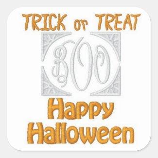 Halloween (Embroidered-Look) Sticker