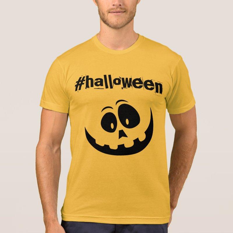 Halloween hashtag tshirt