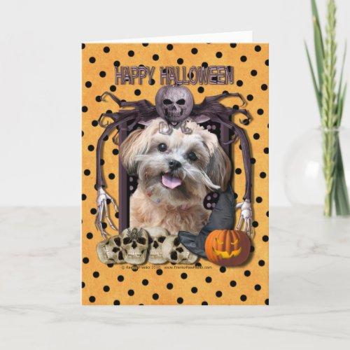 Halloween Nightmare - ShihPoo - Maggie Card