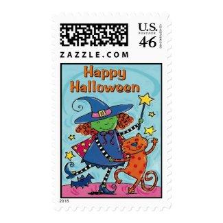 Halloween stamp stamp
