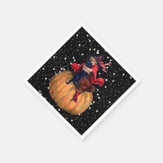 Halloween: The Final Frontier Standard Cocktail Napkin