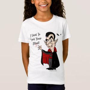 Halloween Vampire Sucks Your Blood! T-Shirt