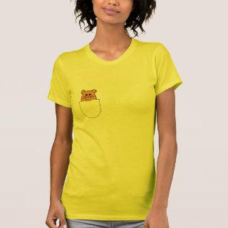 Hamster 'myham' in your pocket t-shirt (2)