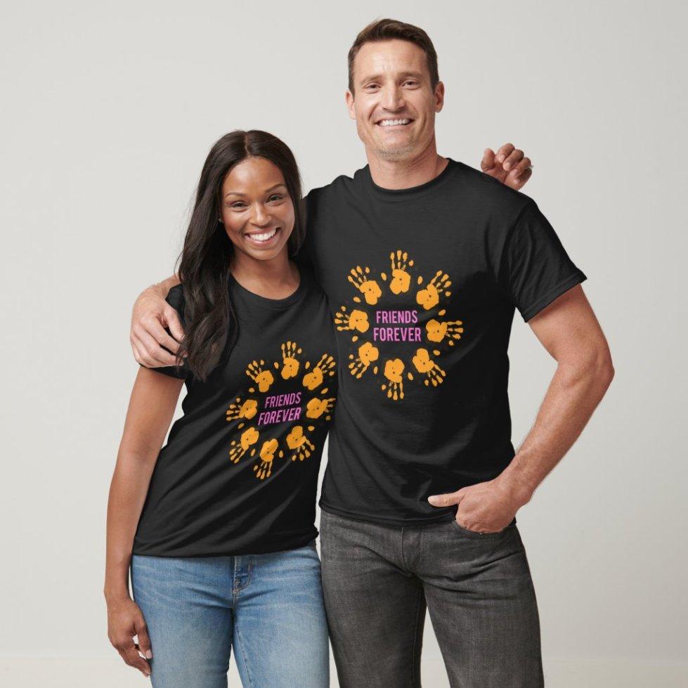 Hands Together Best Friend T-Shirt