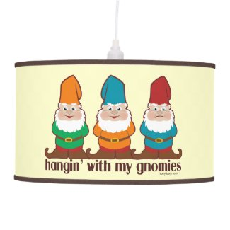 Hangin' With My Gnomies Pendant Lamp
