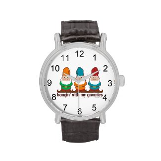 Hangin' With My Gnomies Wrist Watches