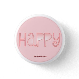 Happy - A Positive Word Pin