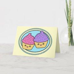 Birthday - Cupcakes Greeting Card