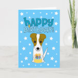 ❤️ Happy Birthday Jack Russell Terrier Card
