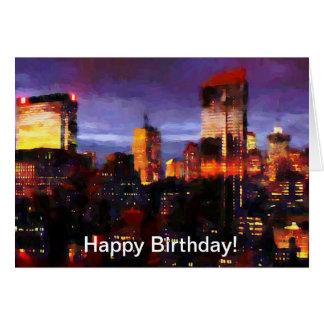 New York City Happy Birthday Cards New York City Happy
