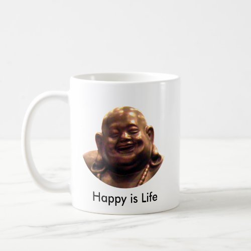 Happy Buddha Shanghai 2002 Circle The MUSEUM Zazz mug