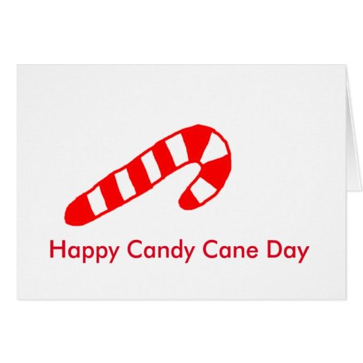 Happy Candy Cane Christmas Cards