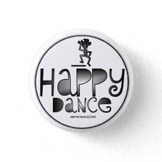 Happy Dance - A Positive Word button
