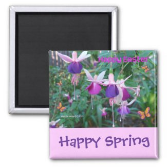 Happy Easter (2) - Magnet - Customize/Personalize magnet