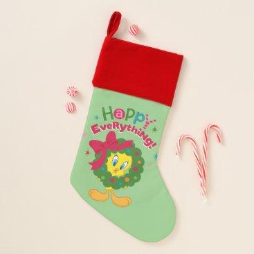 Happy Everything Christmas Stocking