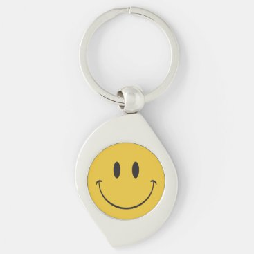 Happy Face emoji Keychain