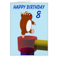 Happy Hamster's birthday Card