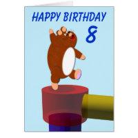 Happy Hamster's birthday Card