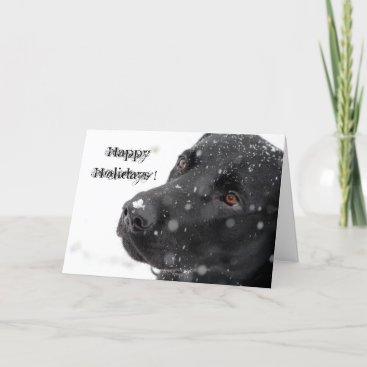 Happy Holidays ! Holiday Card