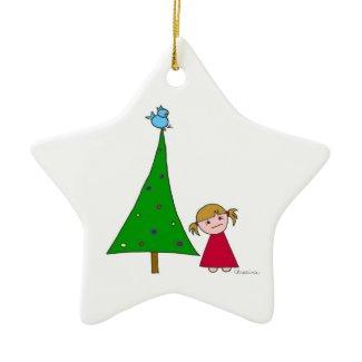 Happy Holidays... Ornament (Star) ornament