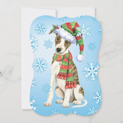Happy Howlidays Whippet Holiday Card
