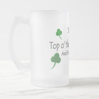 Happy St. Patty's Day (1b) - Personalize - Stein mug
