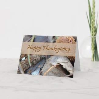 Happy Thanksgiving (3) Card card