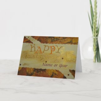 Happy Thanksgiving - Scrapbook - Seasons Card
