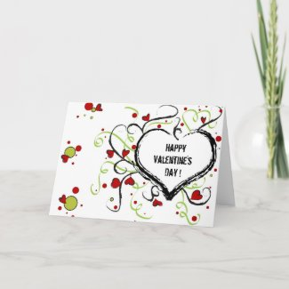 Happy Valentine's day - Card card