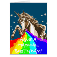 Have a magical birthday! card