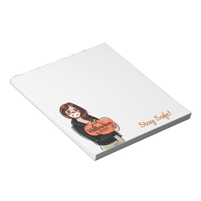 Have a Safe Halloween 2020 Notepad