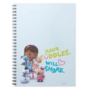 Have Cuddles Will Share Notebook