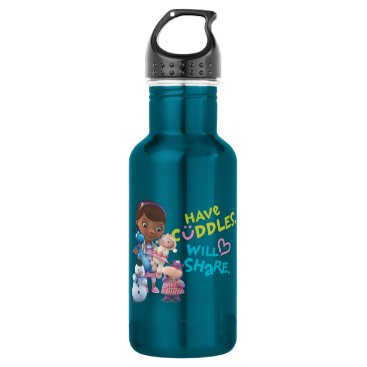 Have Cuddles Will Share Water Bottle