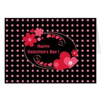 Hearts frame - Card card