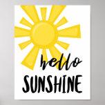 ❤️ Hello Sunshine Poster