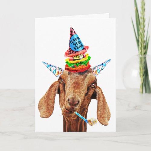 Here We Goat Again card