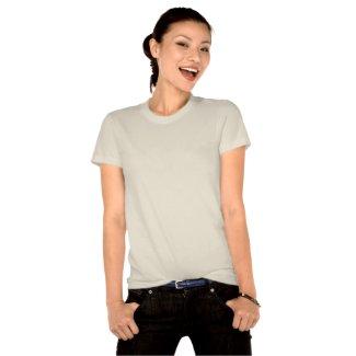 Hereditary Breast Cancer Slogan Watermark Ribbon shirt