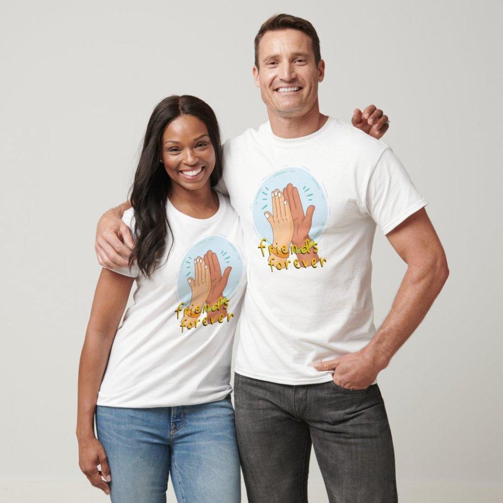 High Five Best Friend T-Shirt