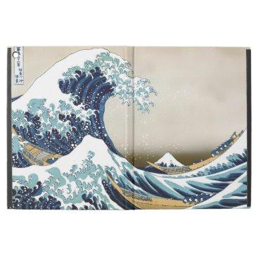 "High Quality Great Wave off Kanagawa by Hokusai iPad Pro 12.9"" Case"