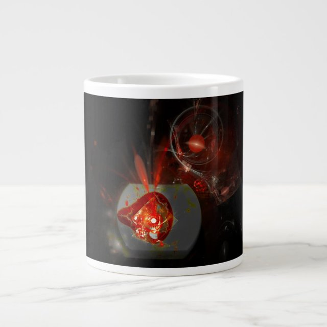 High Strangeness Nebula Giant Coffee Mug