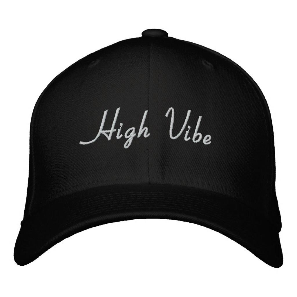 High Vibe Hat - Black & White