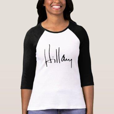 HILLARY CLINTON AUTOGRAPH T-Shirt