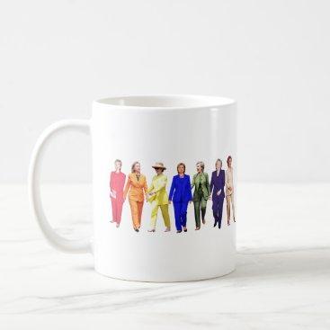 Hillary Clinton Pantsuit Queen Coffee Mug