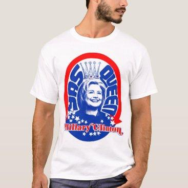 Hillary Clinton Yas Queen Men's Shirt
