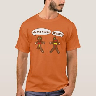 Holiday Gingerbread Humor T-Shirt