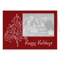 Holiday Photo Template Card