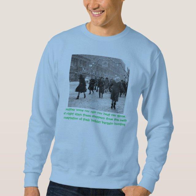 Holiday Shoppers Creed Sweatshirt